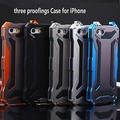 Waterproof Shatterproof Metal Full Body Case for iPhone