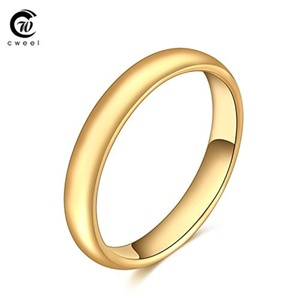 Slyq Jewelry Bridal Fashion Jewelry Gold Plated Ring Statement Wedding Accessories Copper Holiday Beads