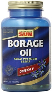 Health From The Sun Borage Oil 300 mg, Gla 60 Capsules by Health From The Sun
