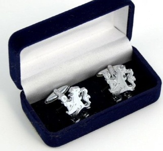 Chelsea F.C. Cufflinks Chrome by Chelsea F.C.