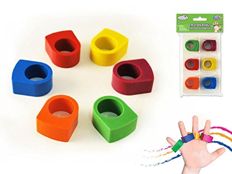 Crayon Rings Online Store 2 Pack Krafty Kids Lil Artist Crayon Rings 6pk