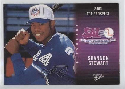 Shannon Stewart (Baseball Card) 2003 Multi-Ad South Atlantic League Top Prospects #36