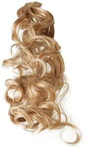 BiYa Hair Elements Thermatt Clip In Hair Extensions Curly Highlights, Light Caramel Brown Number 12 20-inch/ 60g by BiYa Hair Elements