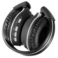 Pyle PHPMP39 Sound 7 Bluetooth Wireless FM Radio/ SD Card MP3 Headphones with Built-in Microphone