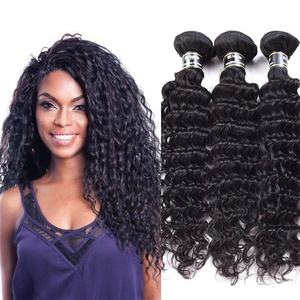 Star Show Hair Malaysian Virgin Hair Deep Wave 3 Bundles Malaysian Deep Wave Hair Extensions 100% Unprocessed Human Hair Weave Natural Color (100+/-5g)/bundle (12 12 12 inch)