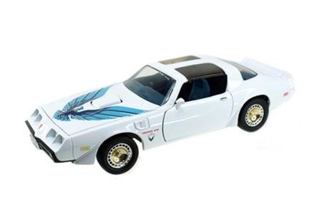1979 Pontiac Firebird Trans Am White 1/18 by Road Signature 92378