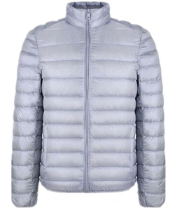 Season Show Men's Warm Light Packable Down Puffer Jacket Grey L