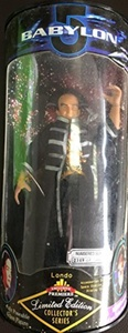 BABYLON 5 - LONDO MOLLARI ACTION FIGURE - RARE NUMBERED 9 DOLL by Exclusive