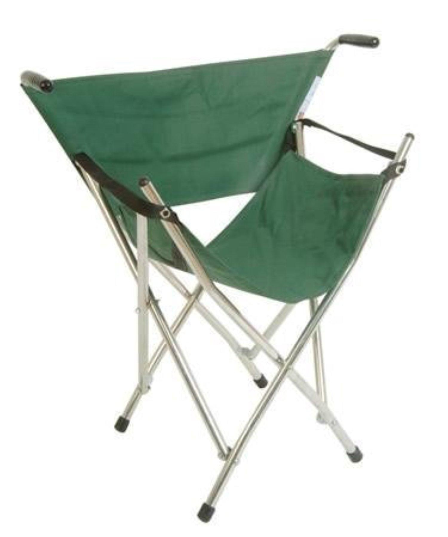 Hight Quality Well Made Out And About Folding Seat In Green - Useful For Outdoor Concerts, Point-To-Point Racing, Picnics And Other Events. by Classic Canes