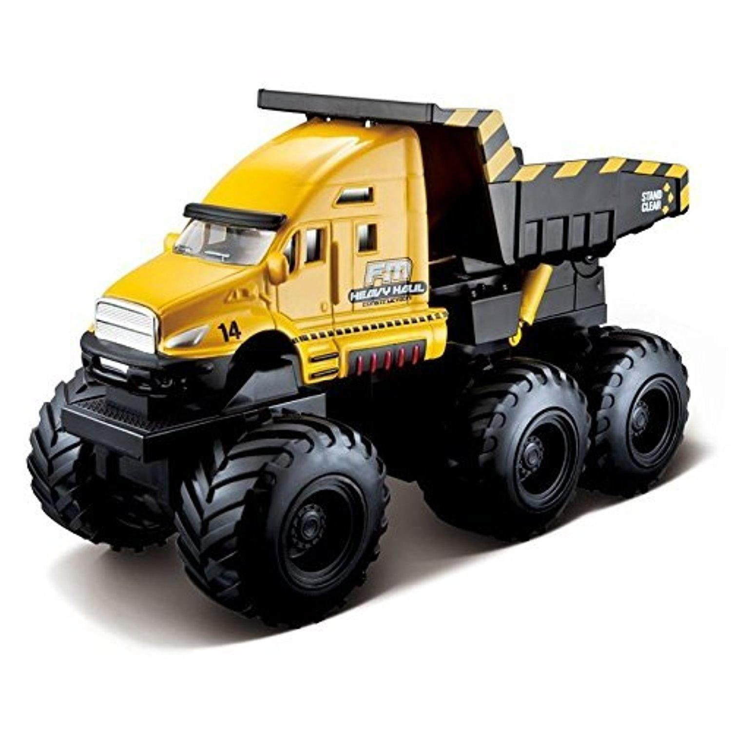 online store maisto fresh metal builder zone quarry monsters maisto fresh metal builder zone quarry monsters yellow construction dump truck by hts
