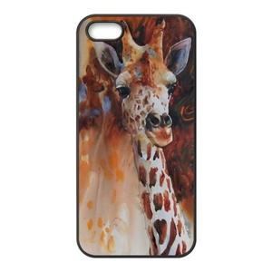 Case for iPhone SE,Cover for iPhone 5,Case for iPhone SE/5/5S,Case for iPhone 5S,Case Cover for iPhone 5,Cover Case for iPhone SE/5/5S,Giraffe Rubber TPU Case Cover For iPhone 5 5S SE