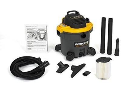 WORKSHOP Wet Dry Vac WS1200VA Heavy Duty General Purpose Wet Dry Vacuum Cleaner, 12-Gallon Shop Vacuum Cleaner, 5.0 Peak HP Wet And Dry Vacuum by WORKSHOP Wet/Dry Vacs