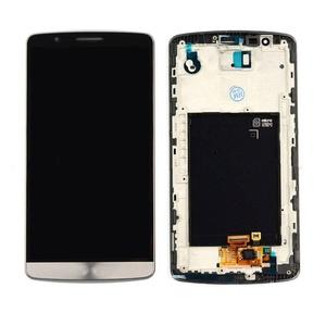 NEW Grey LG G3 D850 D851 D855 VS985 LS990 LCD Screen +Digitizer Touch W/Frame