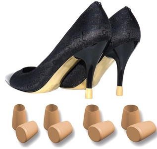 Heel Replacements or Protectors - 4 Pairs - 4 Sizes