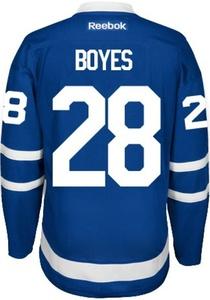Brad Boyes 2016/17 Toronto Maple Leafs NHL Home Reebok Premier Hockey Jersey