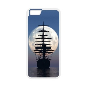 super shining day Discount Nautical Sailing Boat Ocean TPU Material Snap on Case Cover for 4.7