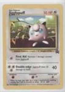 Pokemon - Jigglypuff (Pokemon TCG Card) 1999-2002 Pokemon Wizards of the Coast Exclusive Black Star Promos #7 by Pokemon Wizards of the Coast
