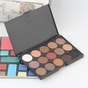 15 Color Cosmetic Matte Eyeshadow Cream Eye Shadow Makeup Palette Shimmer Set BE