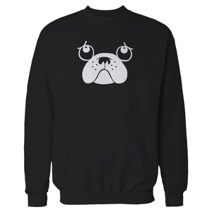 It's A Life Pug Cute Sweatshirt XX-Large Black