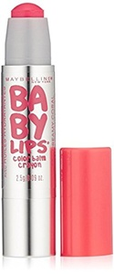 Maybelline Baby Lips Color Balm Crayon, 20 Creamy Coral (Pack of 2)