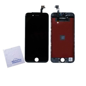 Black Touch Screen Digitizer + LCD Assembly For Apple iPhone 6 4.7 A1549 5-PACK by Group Vertical