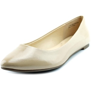 Kelly & Katie Monica Women Pointed Toe Synthetic Nude Flats