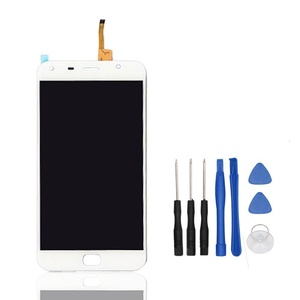 HYYT LCD Display and Touch Screen Digitizer Glass Replacement Full Assembly with Free Tools for UMI Touch (White)