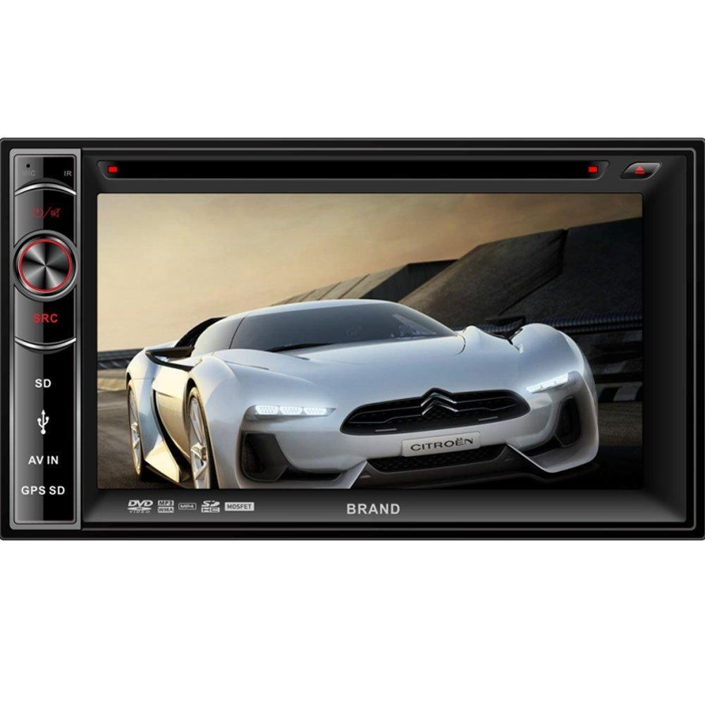 BEIDOUYH CVD6275M Double Din Digital Touch screen Car DVD Player with GPS Navigation Bluetooth and Remote Control