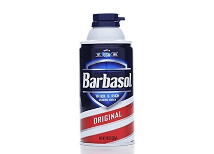 Barbasol Original Thick and Rich Cream Men Shaving Cream, 10 Ounce by Barbasol