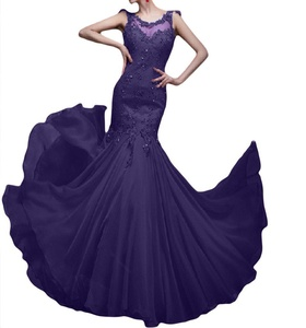 Winnie Bride Glamorous Prom Gown Lace Beaded Evening Party Dress for Wedding-16W-Regency