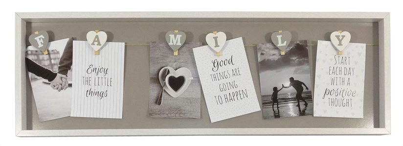 Family Peg Photo Frame - PF-60325 - Something Different - Enough postage for courier