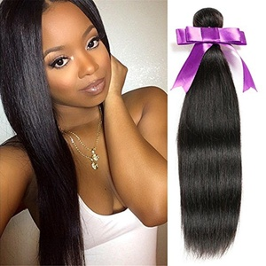 Risbaer Hair 7A 100% Peruvian Remy Hair Natural Color Straight Human Hair Weave Hair Extention 3 Bundles In One Pack Can Be Curled And Dyed (20 22 24, natural color)