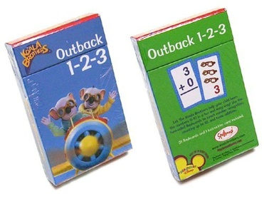 Koala Brothers - School Supplies - Number Flashcards by Big Tent