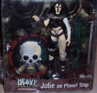 Heavy Metal Fakk2 Julie on Planet Ship Game Series 1 by Heavy Metal