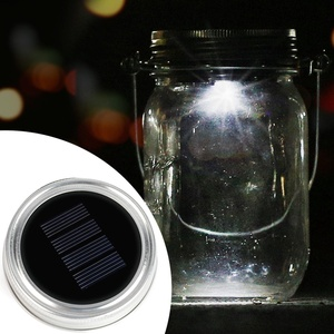 Solar Mason Jar Lid - Kohree LED Mason Jar Lights for Glass Mason Jars and Garden Decor, Solar jar Light
