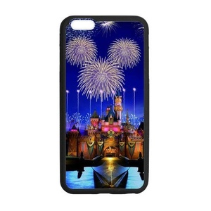 Case for iPhone 6 Plus/6S Plus,Rubber Case for iPhone 6 Plus(5.5 inch),Case for iPhone 6S Plus,Cover for iPhone6S Plus,Castle Pattern Protective Rubber Case for iPhone 6 Plus(5.5