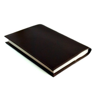 Handmade leather book cover A5 size of domestic bag shop (chocolate) (japan import) by Leather book cover