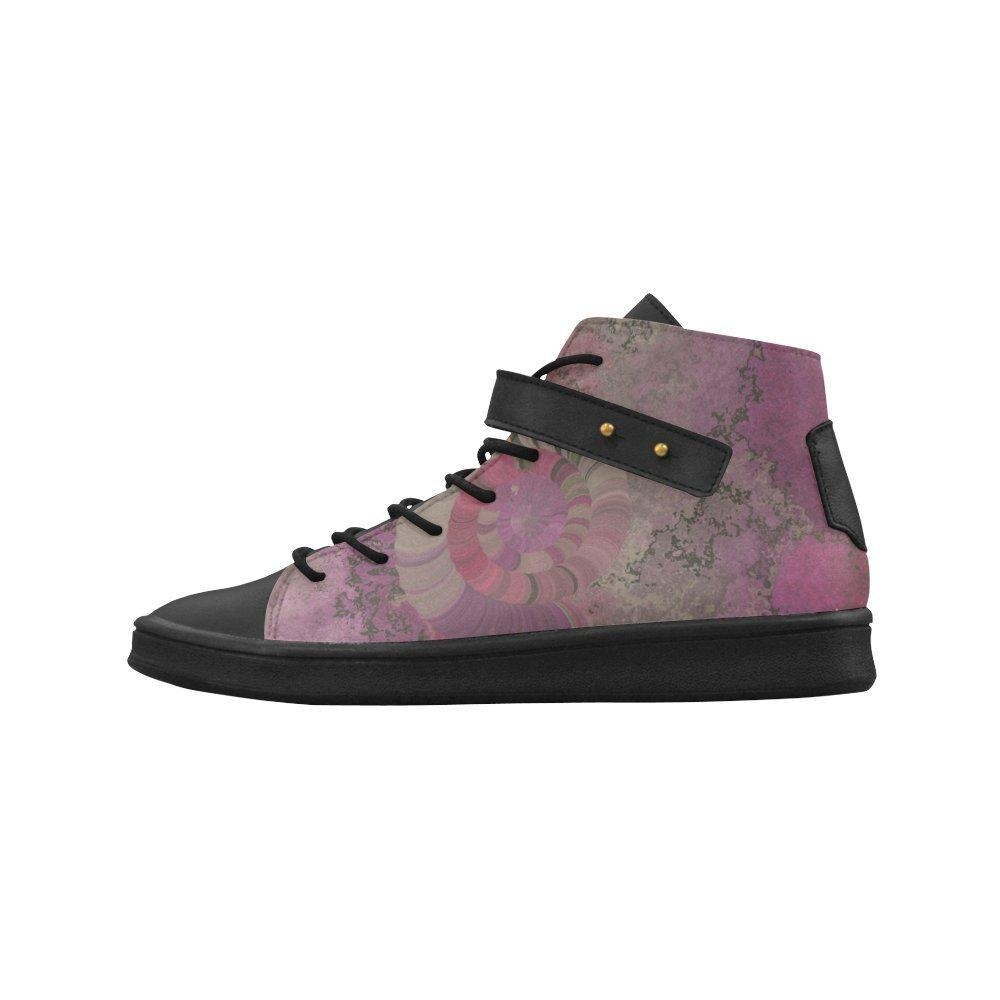 Shoes No.1 Women's Sneakers Lyra Round Toe High-top Shoes Seashell For Outdoor