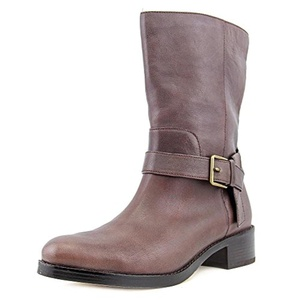 Cole Haan Briarcliff Mid Boot Women US 8 Brown Mid Calf Boot