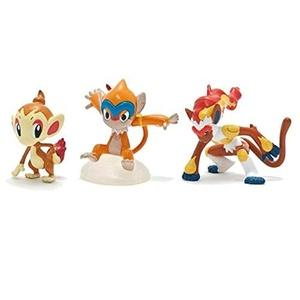 Pokemon Trainer's Choice Mini Figure 3-Pack Hoenn Region - Treecko, Grovyle & Sceptile (T18486) by Pokemon Trainer's Choice