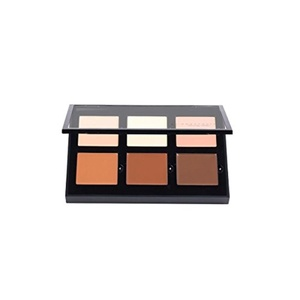 Medium Cream Contour Kit Concealer Palette Bronzer Highlighter Makeup 6 Colour Set
