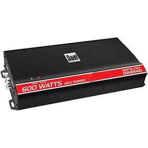 DUAL DA954D Digital Compact Series Class D Amp (4 Channels, 600 Watts)