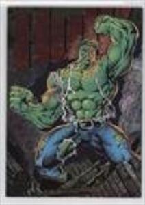 Hulk (Trading Card) 1994 Fleer Marvel Universe Series 5 - Power Blast #5