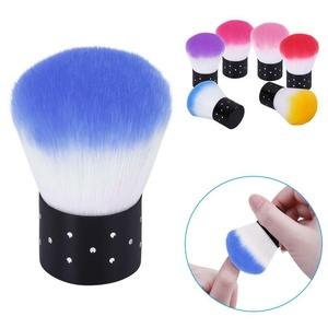 Elite99 Nail Brush For Nail Art Manicure Dust Cleaner Remover Makeup Cosmetic Face Brush Cleaning Tool Blue