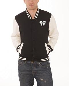 5 Seconds Of Summer Jacket Collegiate Logo Official Mens Black Varsity