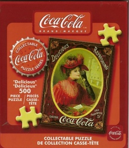 Coca - Cola 500 Piece Puzzle Model T by Coca-Cola