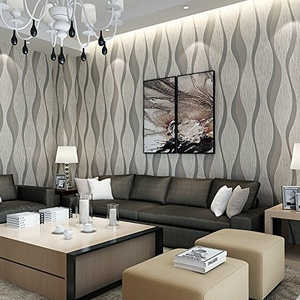 CCWY Upscale contemporary bedrooms 3D-thick non-woven cloth wallpaper on your living room sofa TV wall paper background
