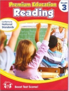 Reading Grade 3 Workbook (Premium Education) by Twin Sisters