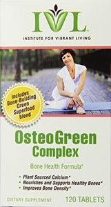 Institute For Vibrant Living Osteogreen Complex Tablets, 120 Count by Institute for Vibrant Living