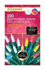 Sylvania V47589-71 100 Count M5 Color Changing LED Light Set